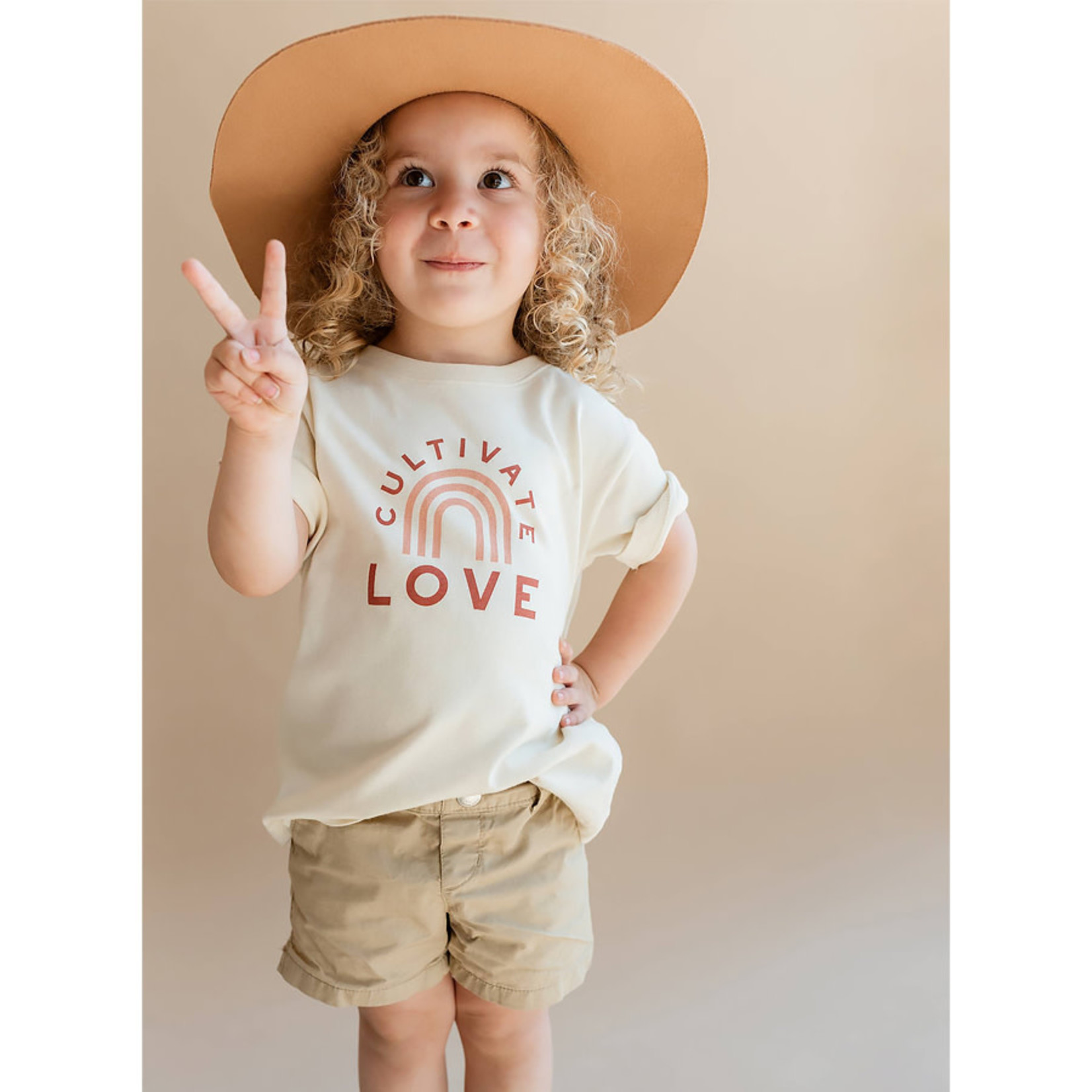 Polished Prints Cultivate Love Toddler Tee