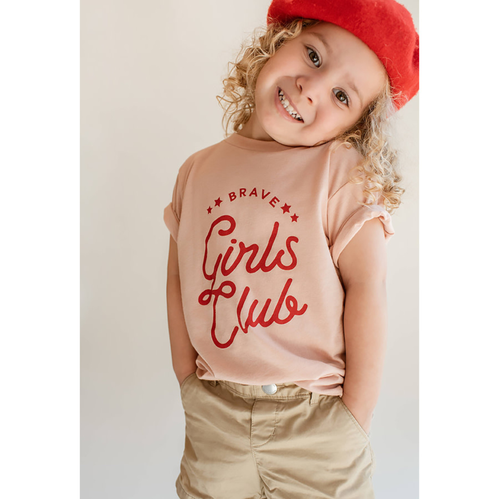 Polished Prints Brave Girls Club Toddler Tee