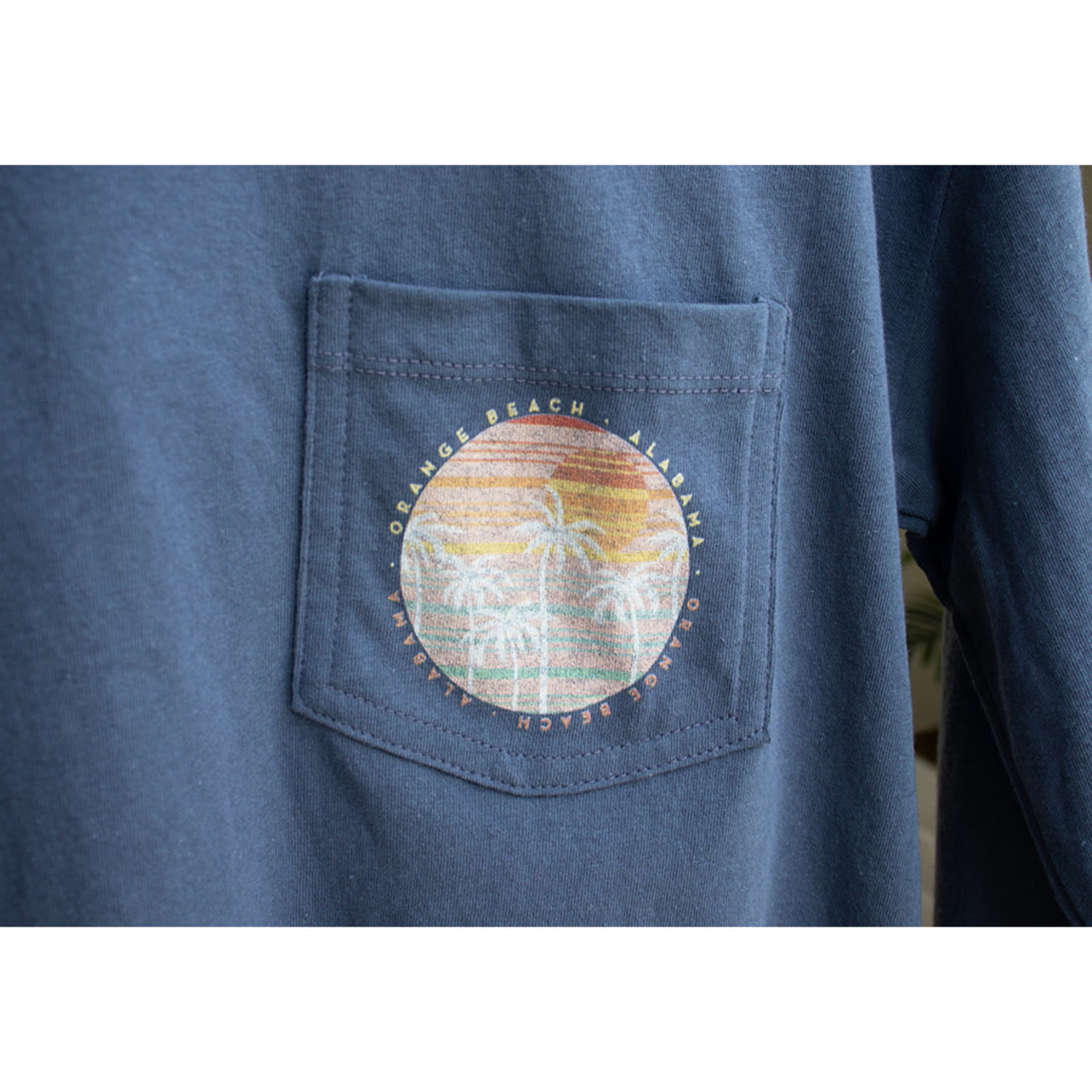 L2 Brands Sunset Long Sleeve Pocket Midi