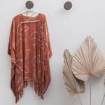 Village Thrive Monstera Kimono