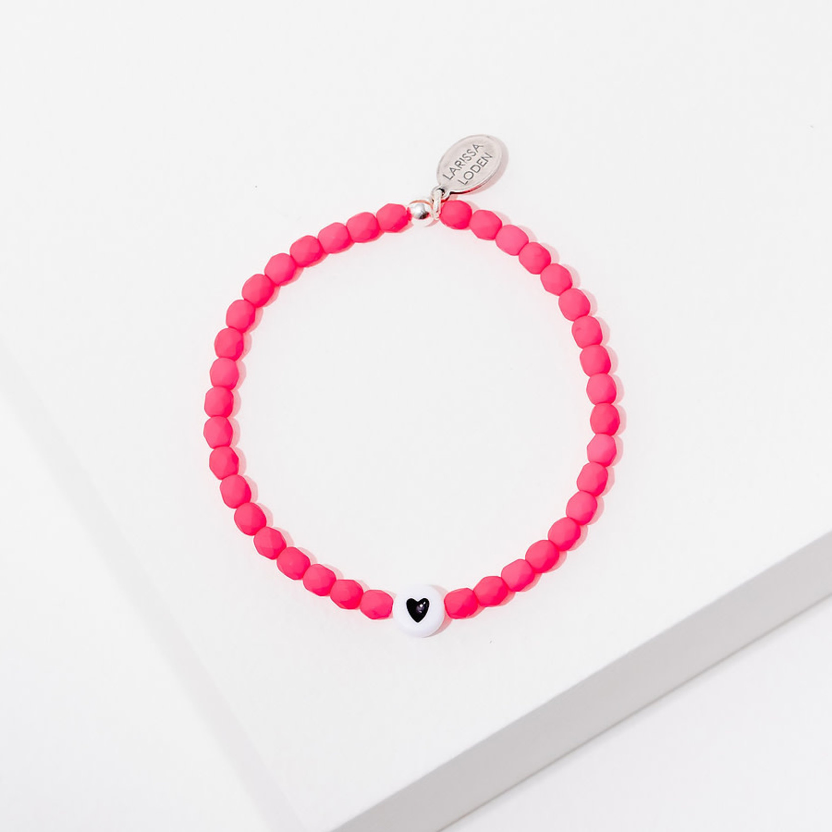 Larissa Loden Kids Pink Heart Bracelet