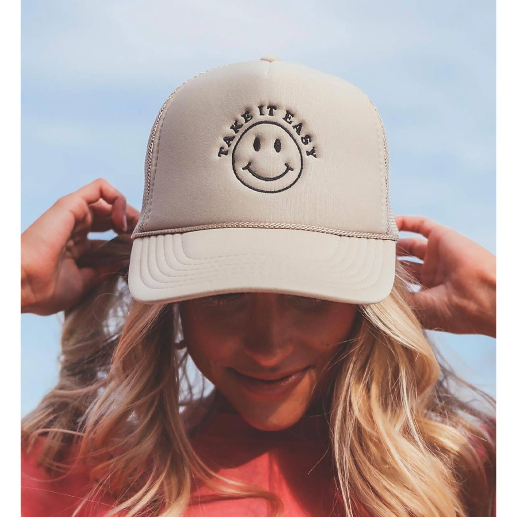 FRIDAY + SATURDAY Take It Easy Trucker Hat