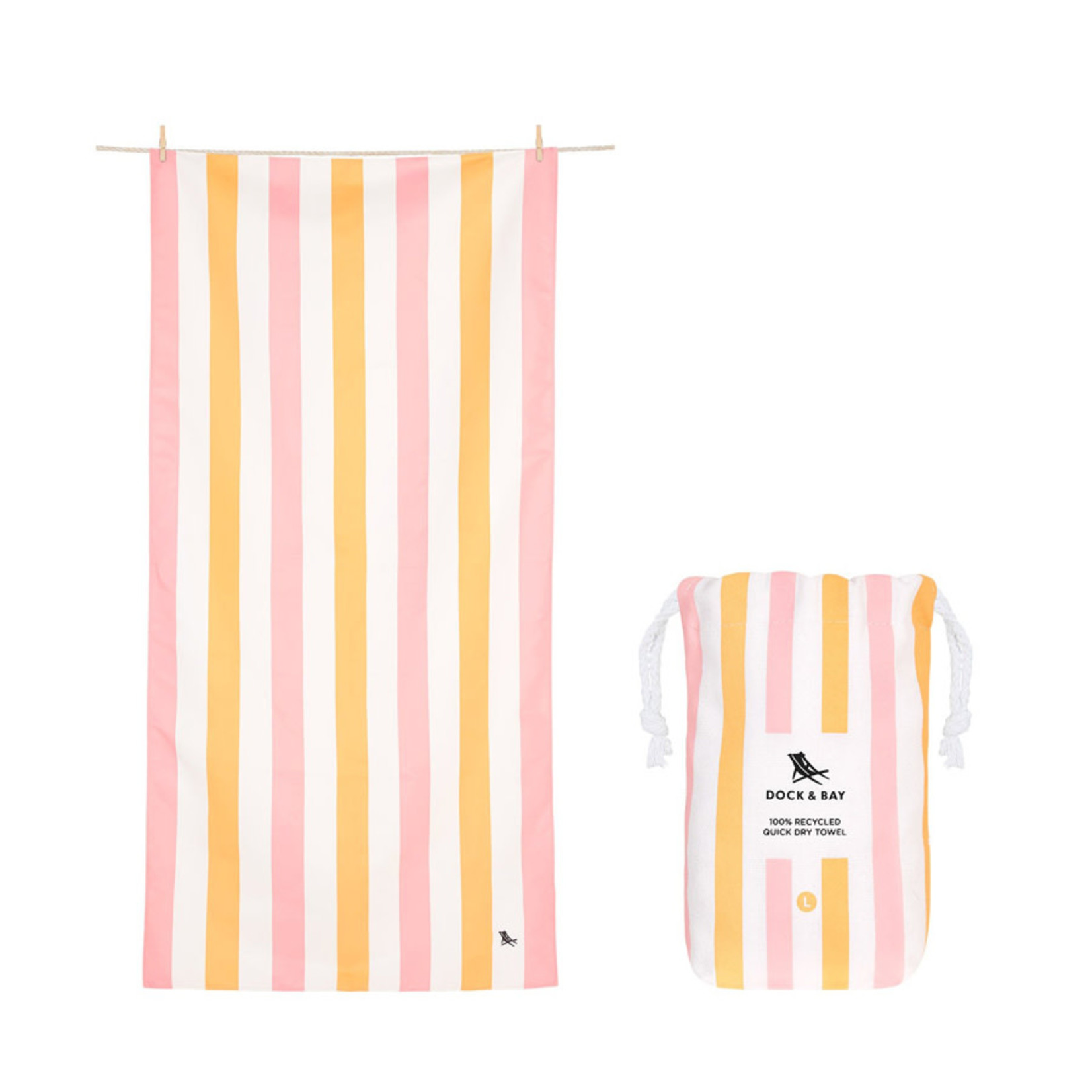 Dock & Bay Quick Dry Beach Towel Summer Collection