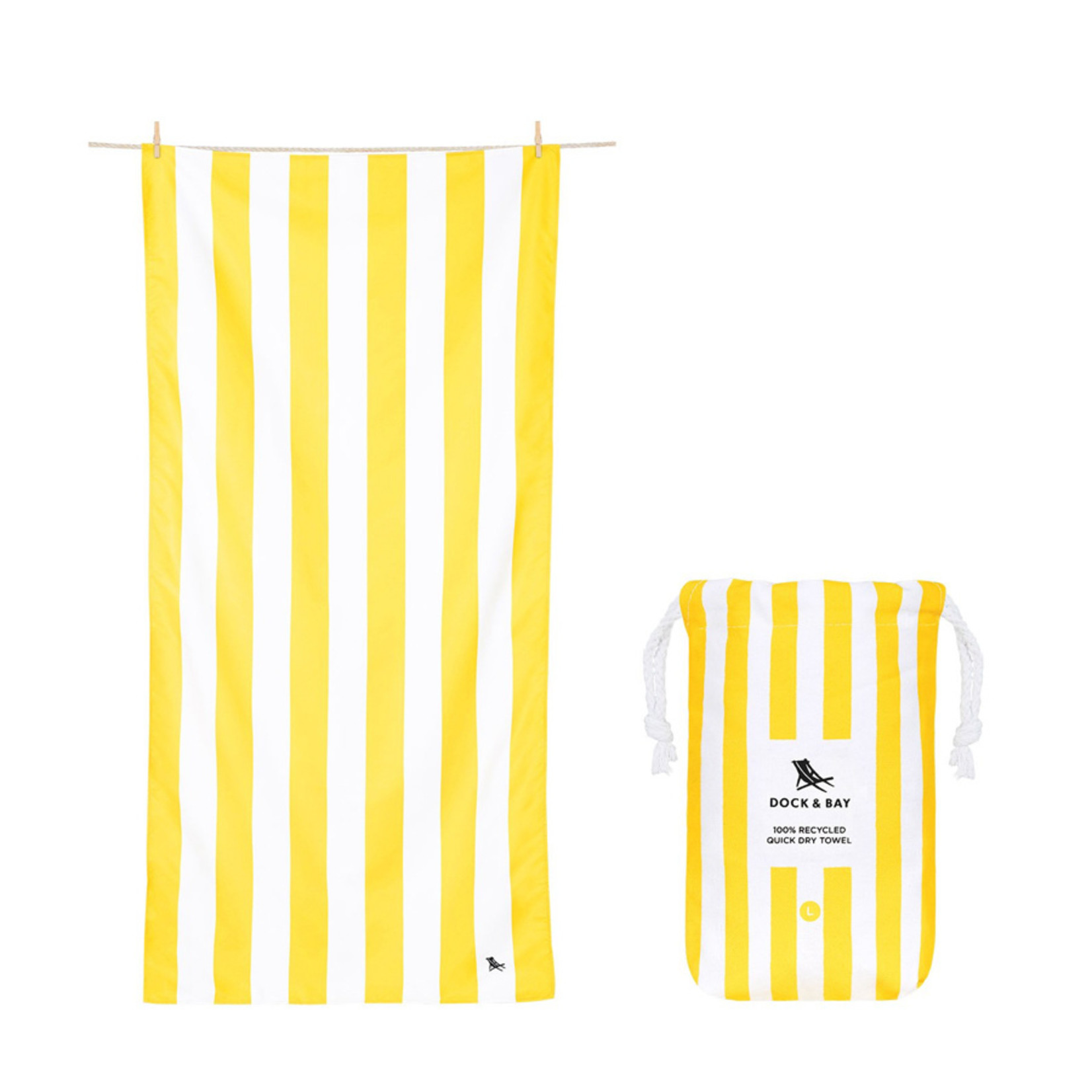 Dock & Bay Quick Dry Towel Cabana Collection