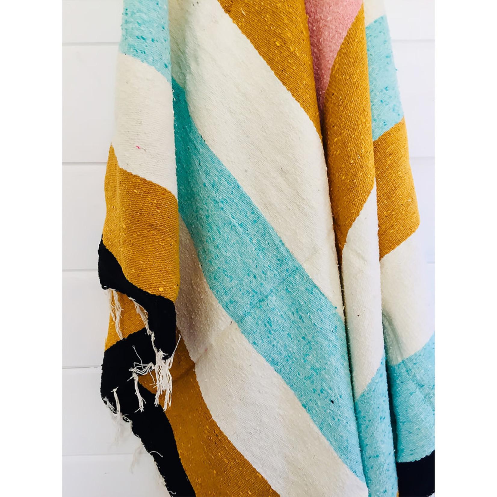 Sea Gypsy California Ohana Throw Blanket