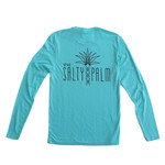 The Salty Palm Long Sleeve Logo Tee