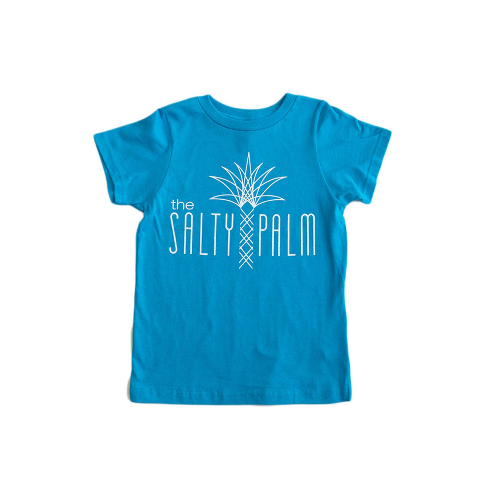 The Salty Palm Youth Short Sleeve Logo Tee