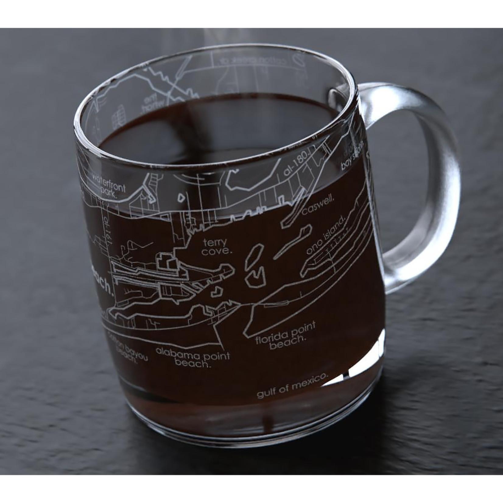 Well Told Orange Beach Map Coffee Mug