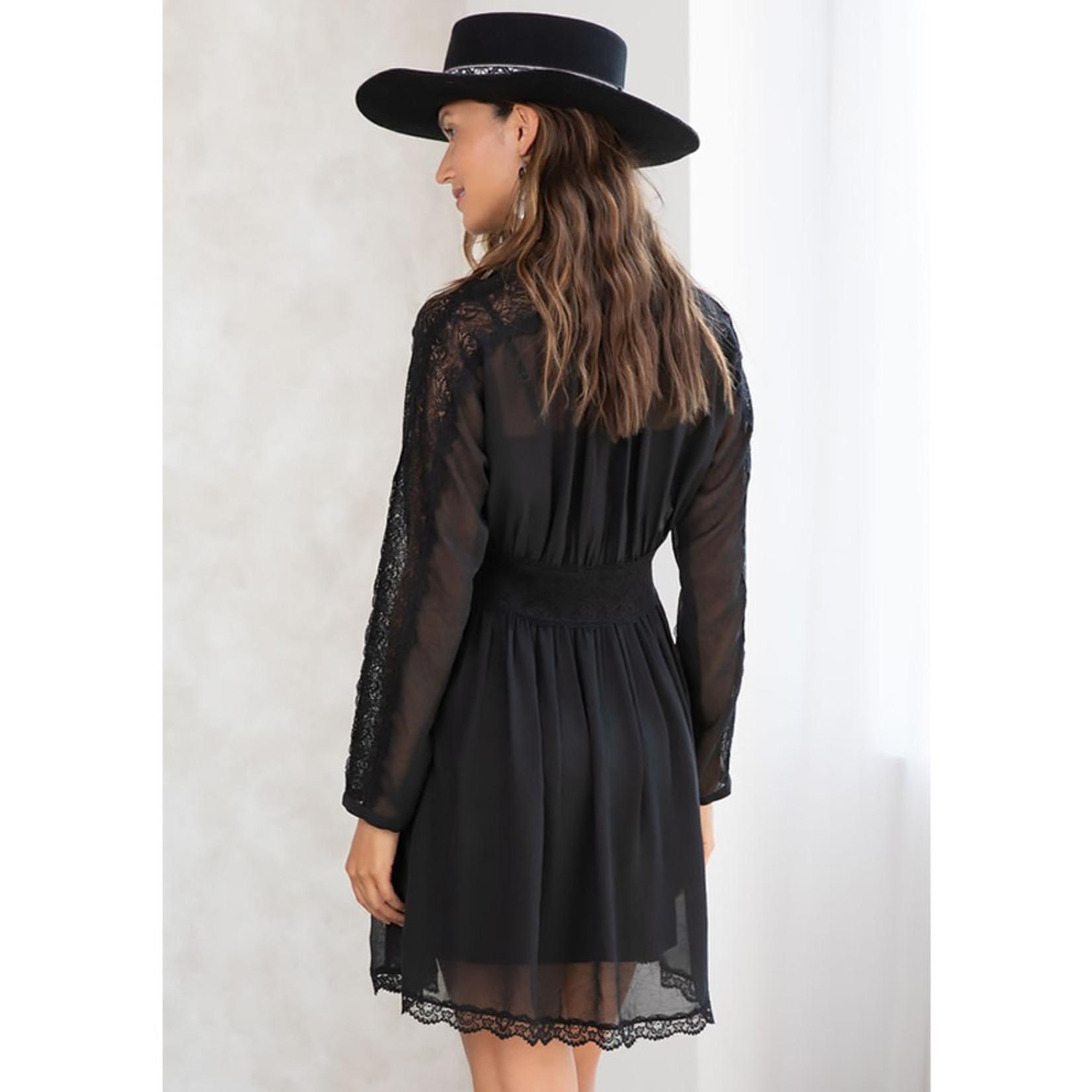 LOVESTITCH Lacey Days Mini Dress