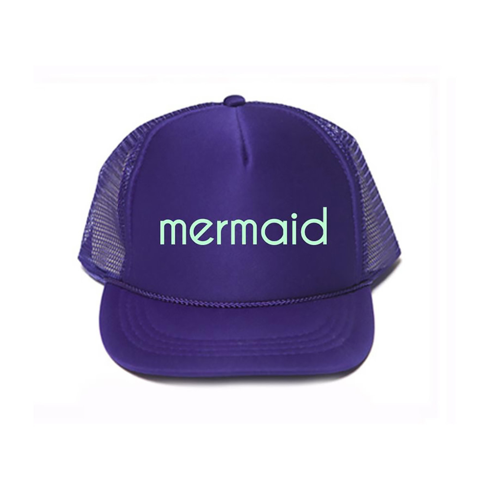 Mothersun and the Captain Youth Mermaid Trucker Hat