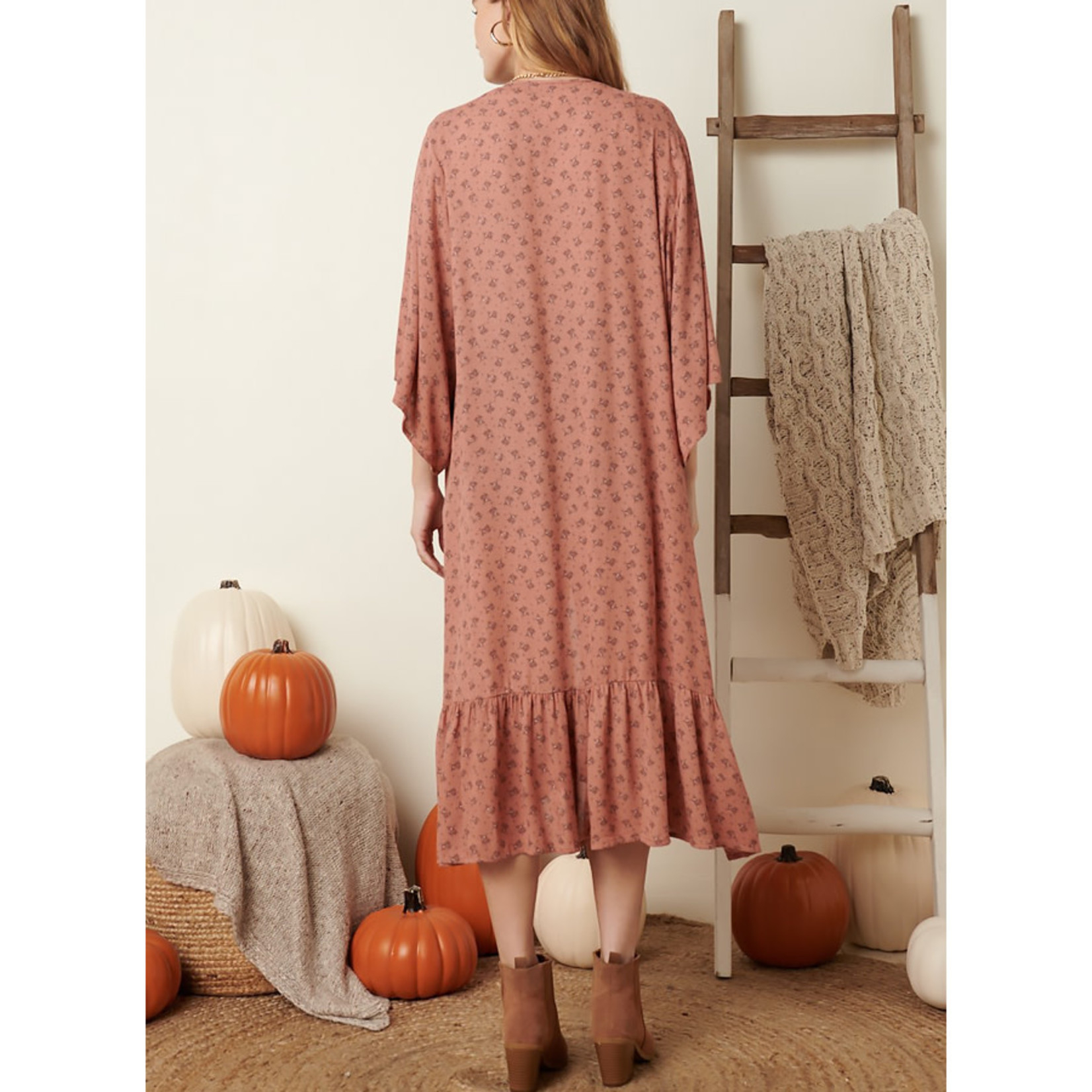 Mittoshop Talk Floral To Me Duster