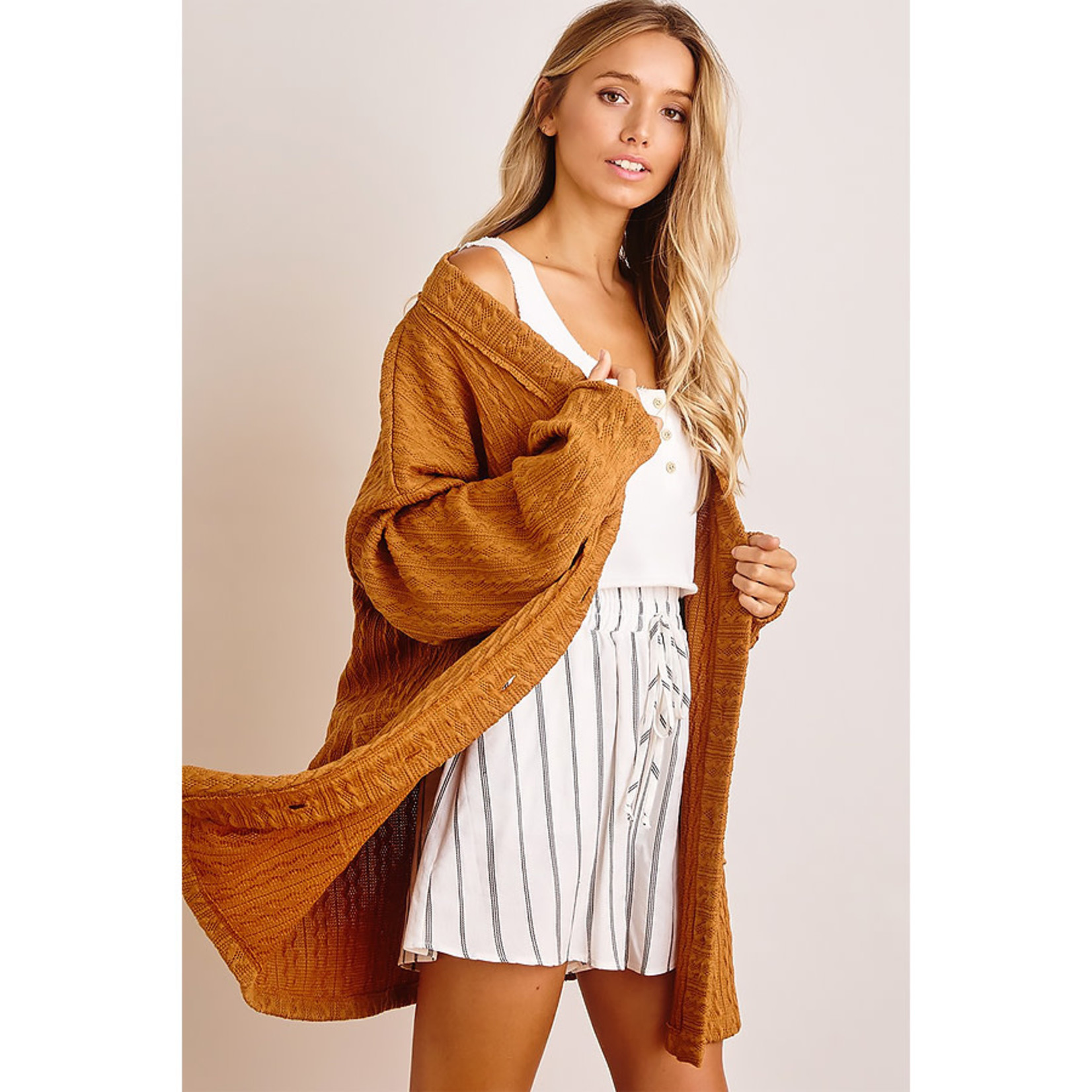 Ces Femme Falling For You Cardigan