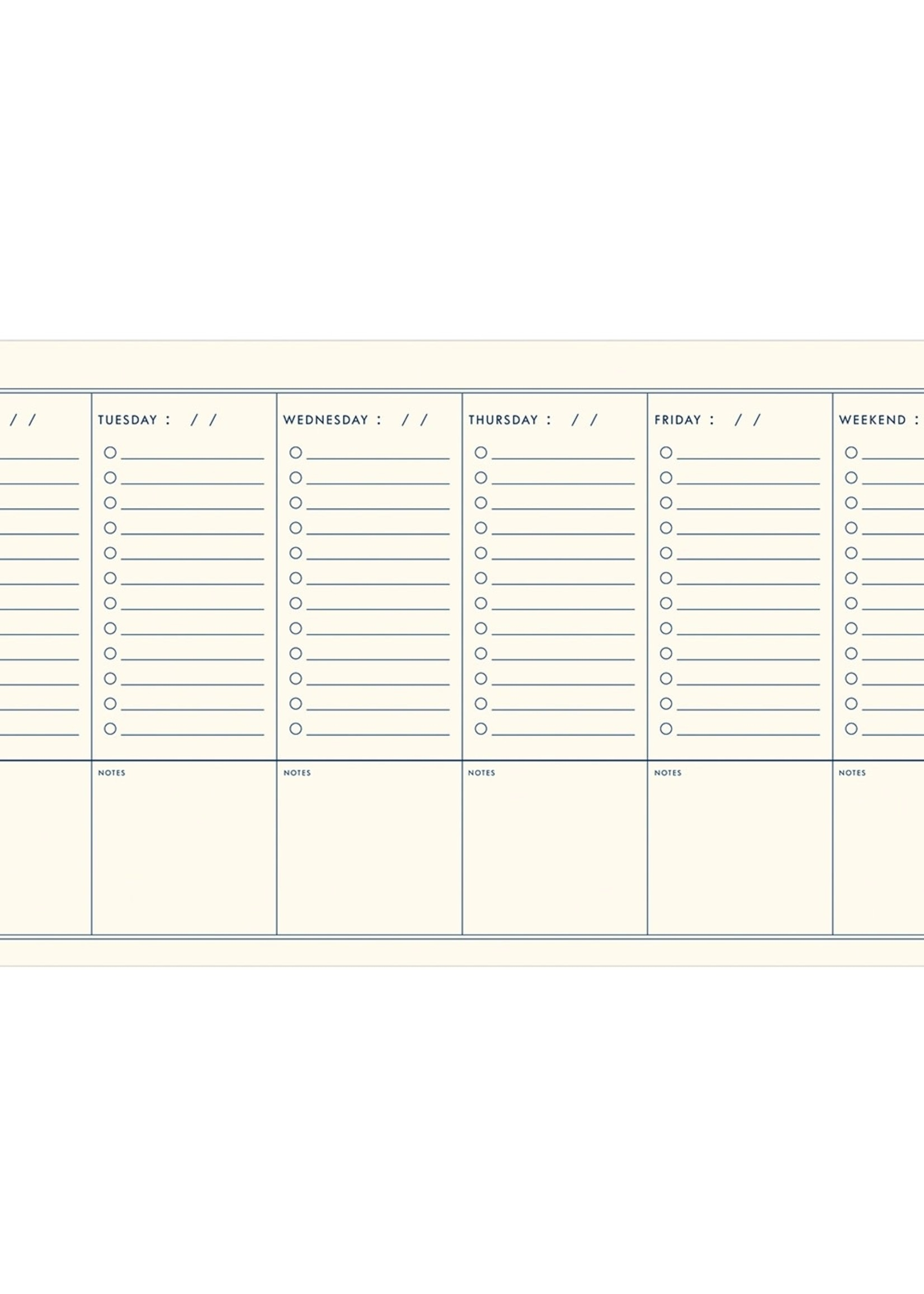 Ruff House Weekly Houseplant Planner