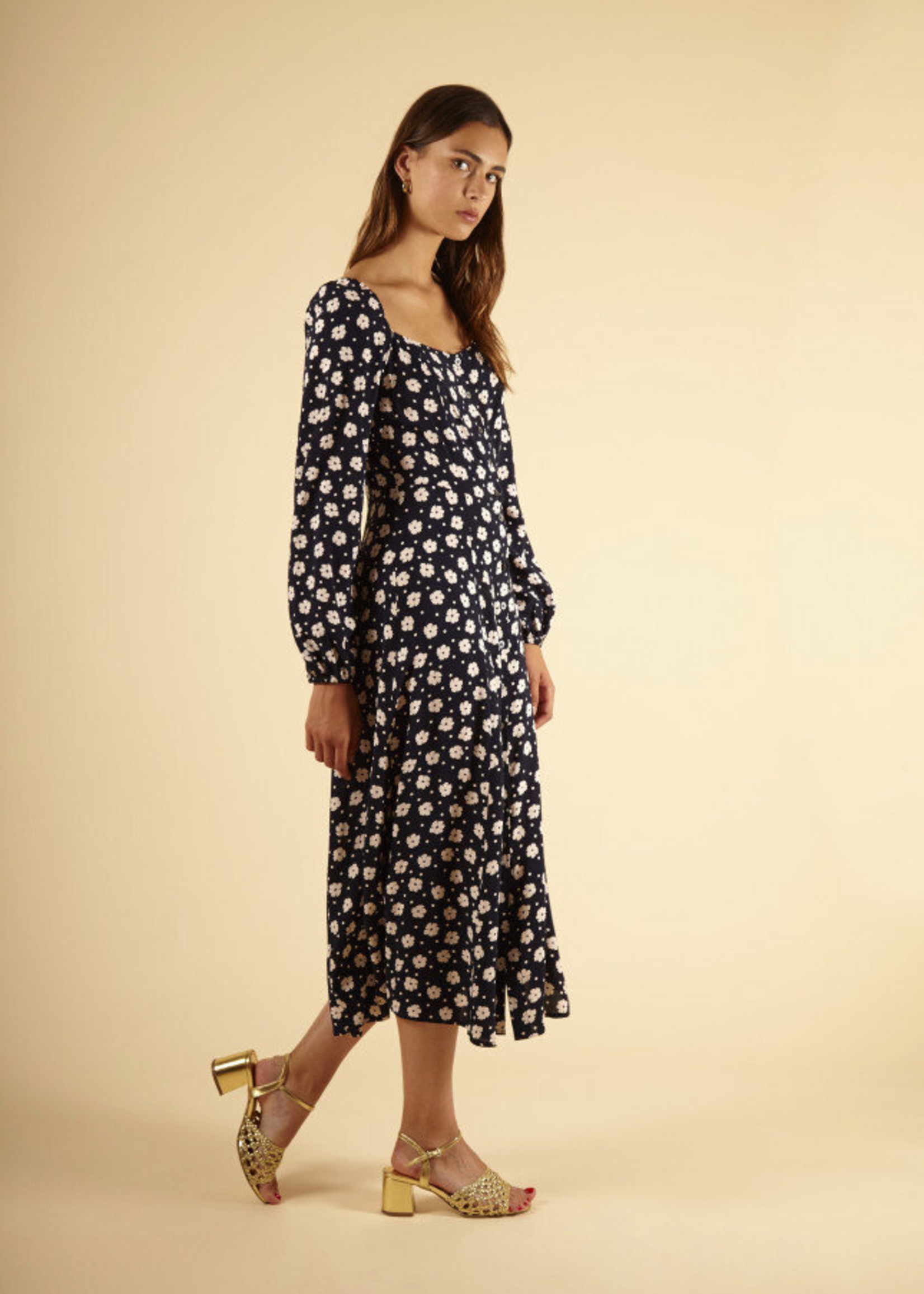 FrNCH Agniela Woven Dress