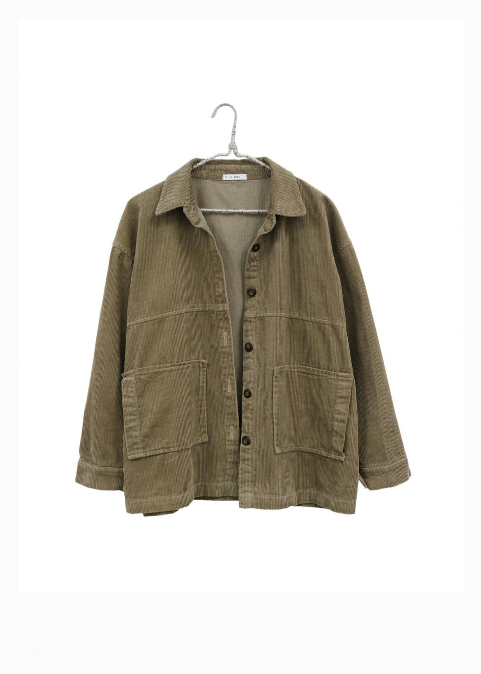 It Is Well LA Corduroy Jacket
