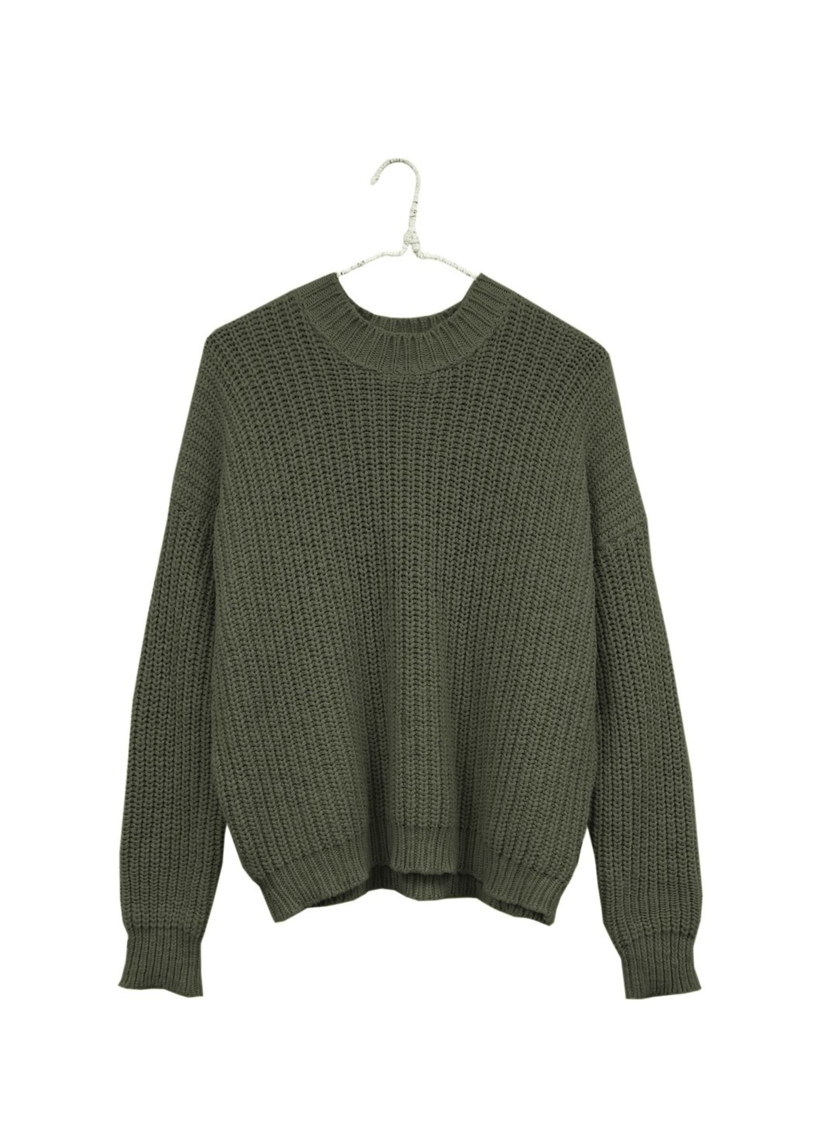 It Is Well LA Chunky Pull On Sweater