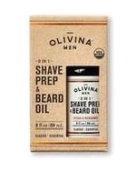 Olivina Shave Prep and Beard Oil