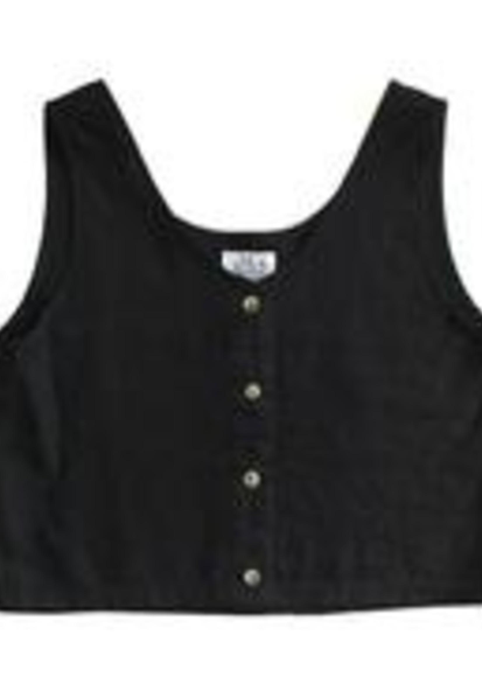 MeandArrow Linen Tank Vest