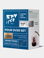 Copper Cow Coffee Copper Cow 5-Pack Black Decaf