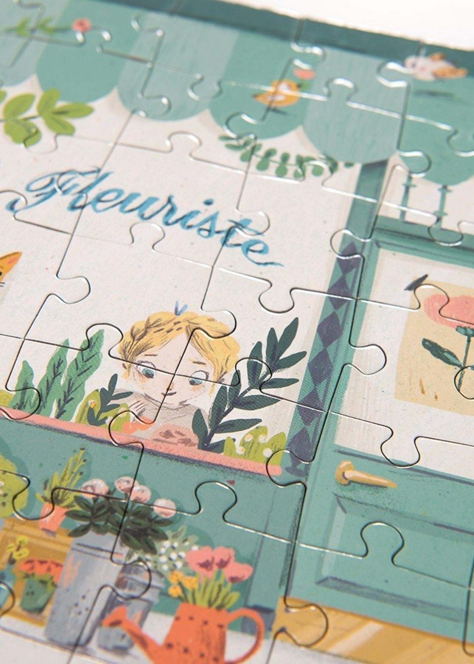 Magicforest LTD Parisian Street Puzzle