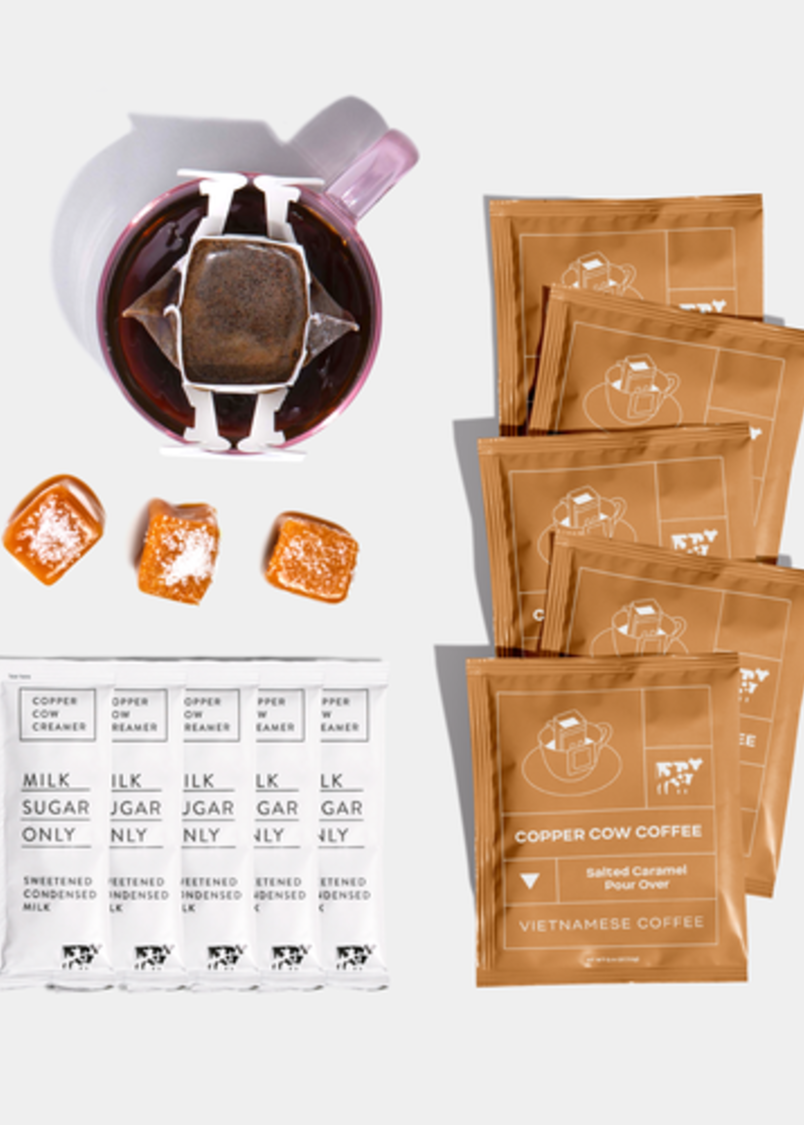 Copper Cow Coffee Copper Cow Coffee 5-Pack