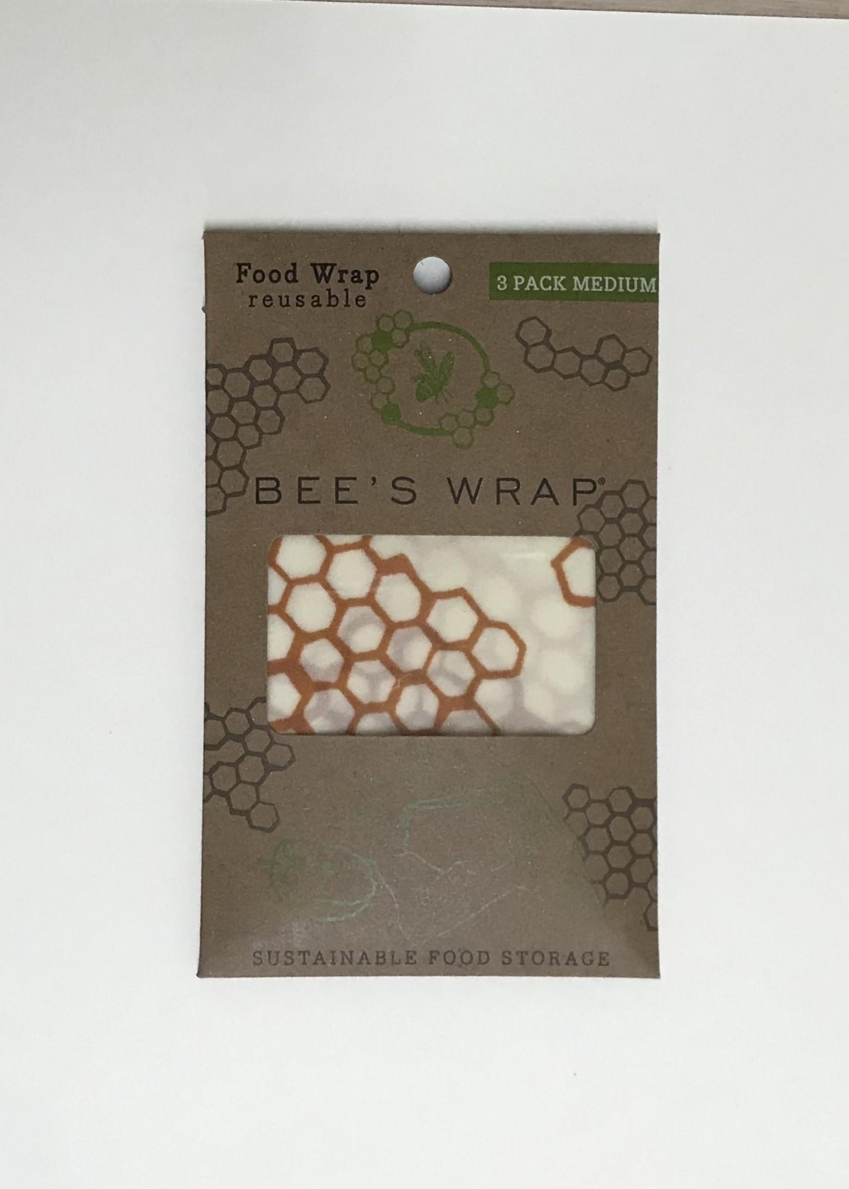 Bee's Wrap Bee's Wrap Set of 3 Medium