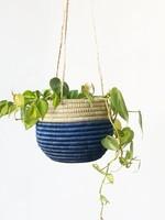 Amsha Hanging Woven Planter