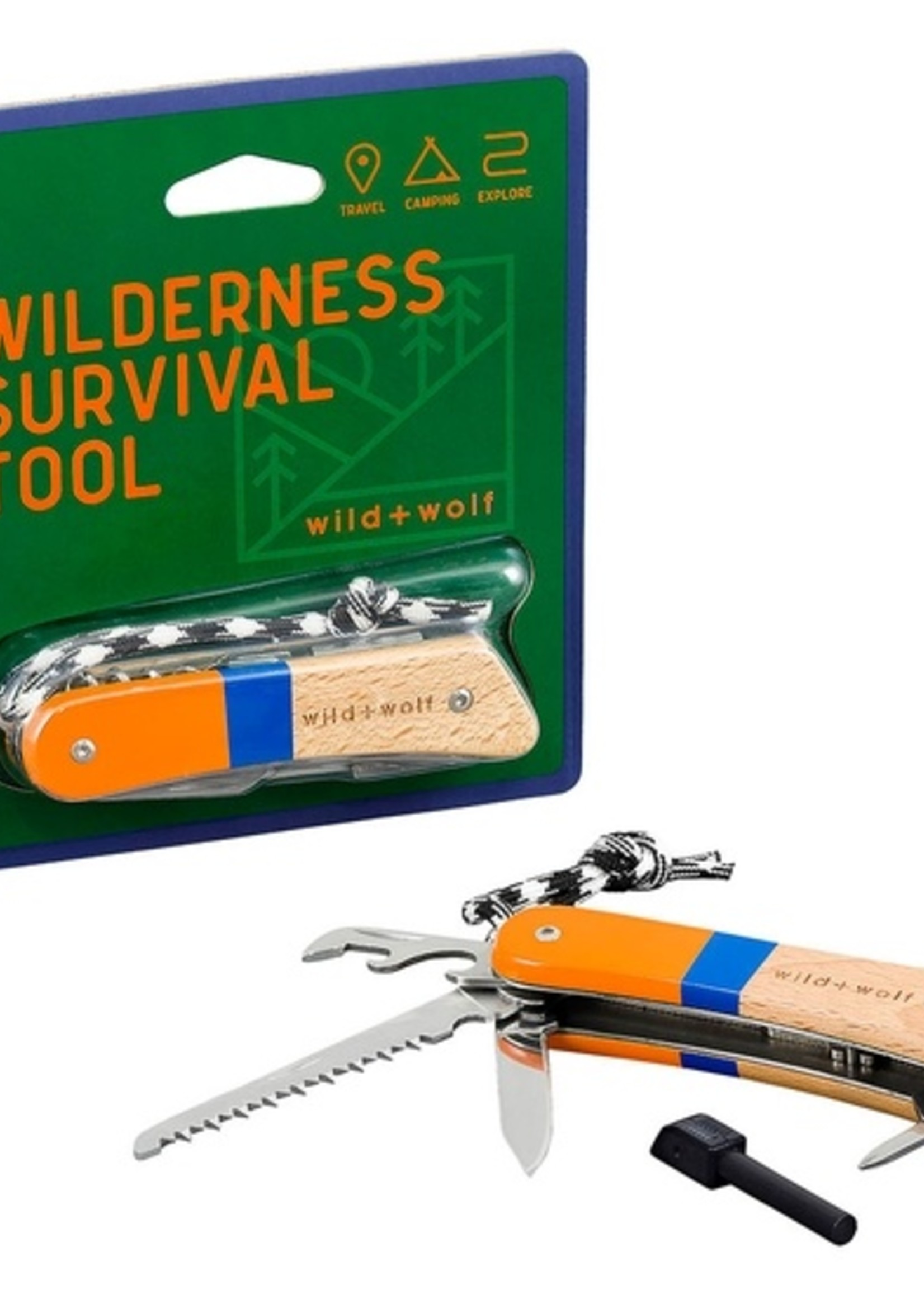 Wild and Wolf Inc W+W Wilderness Tool