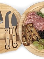 Picnic Time Cheese Cutting Board & Tools