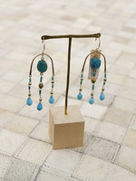 Navone Jewelry Turquoise Paradiso Earrings