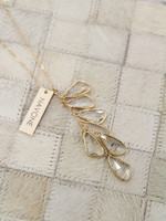 Navone Jewelry Clear Wings Necklace