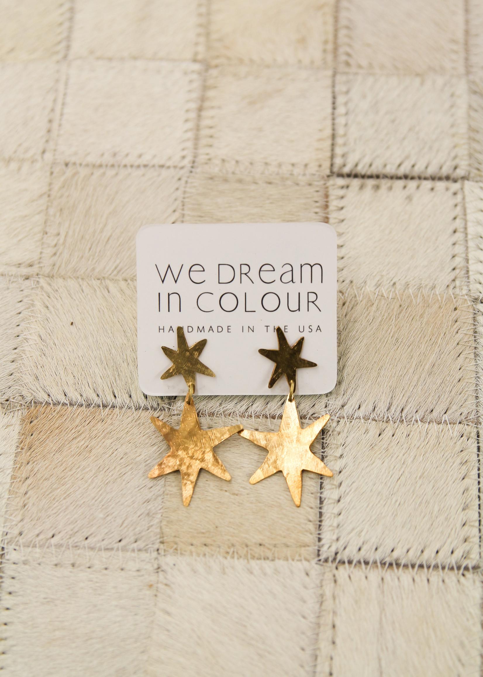 We Dream In Colour Starlet Earrings