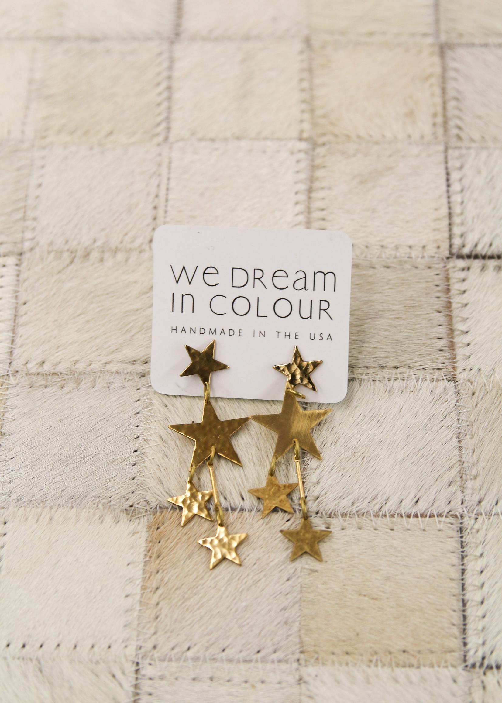 We Dream In Colour Little Galaxy Earrings