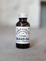 Ember & Valor Citrus Beard Oil