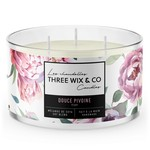 Three wix & co Pivoine - Three wix & co