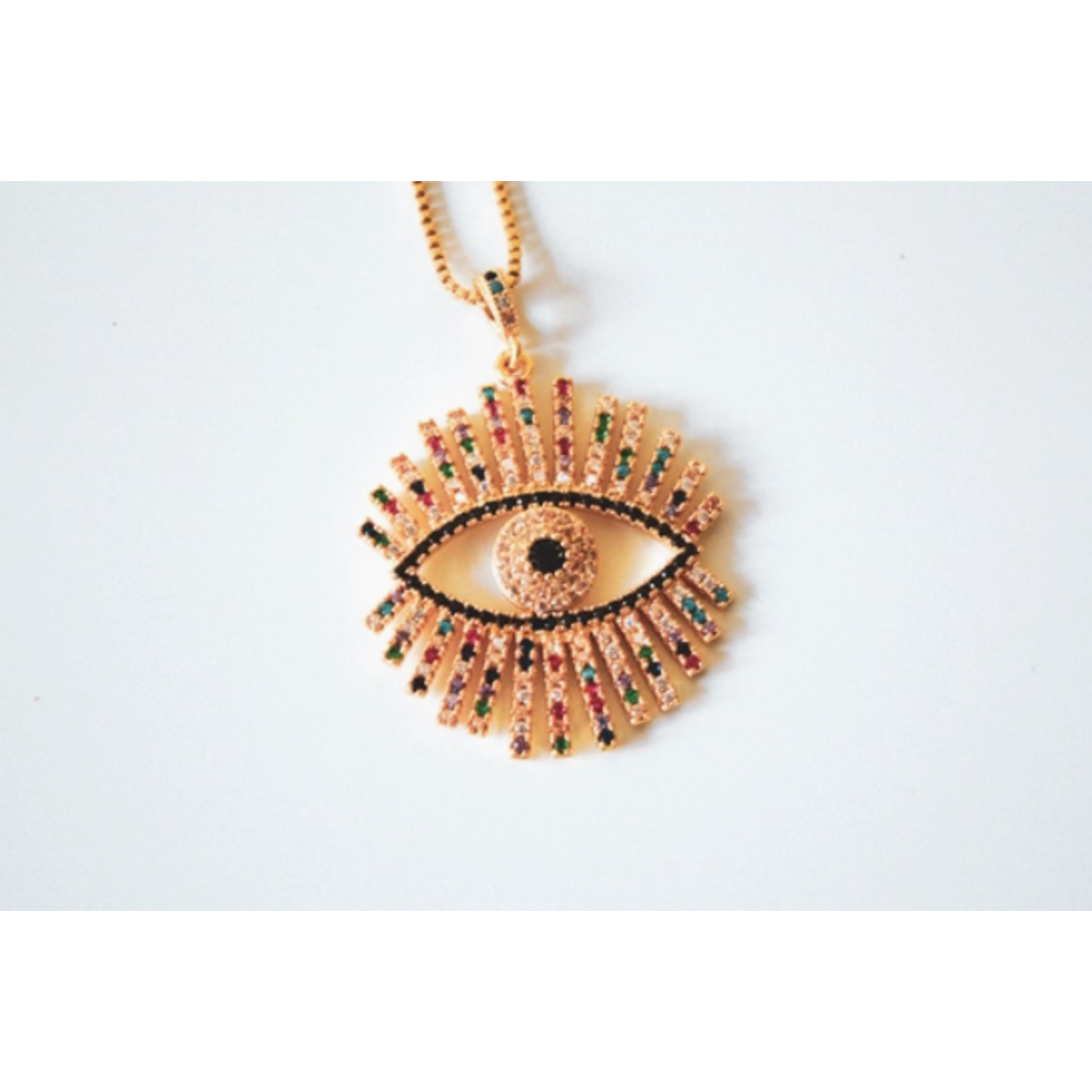 Mamanhippie Evil eye 14K - Mamanhippie