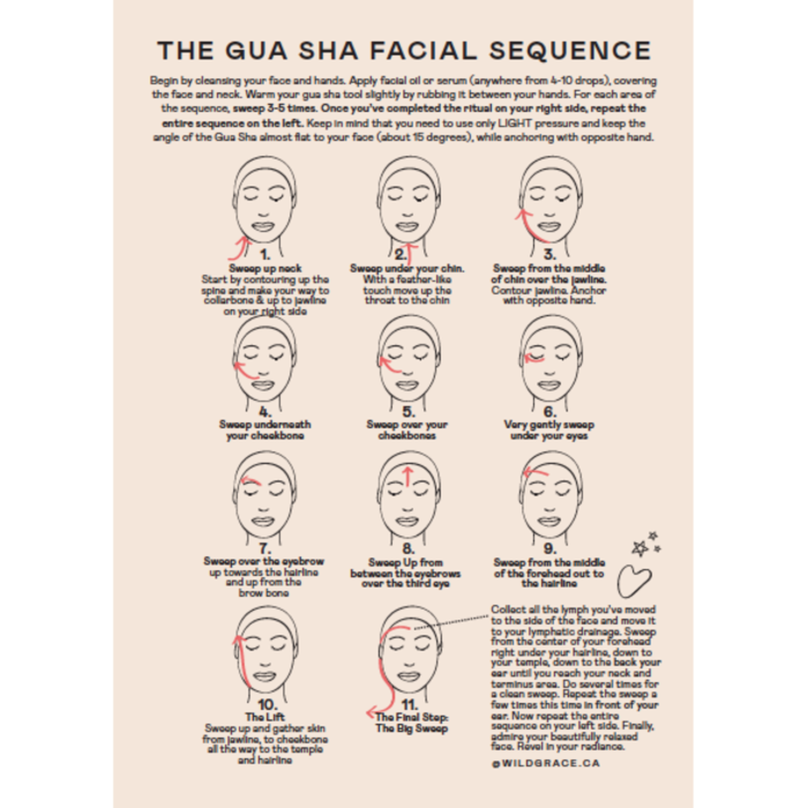 Gua sha opale - Wild Grace