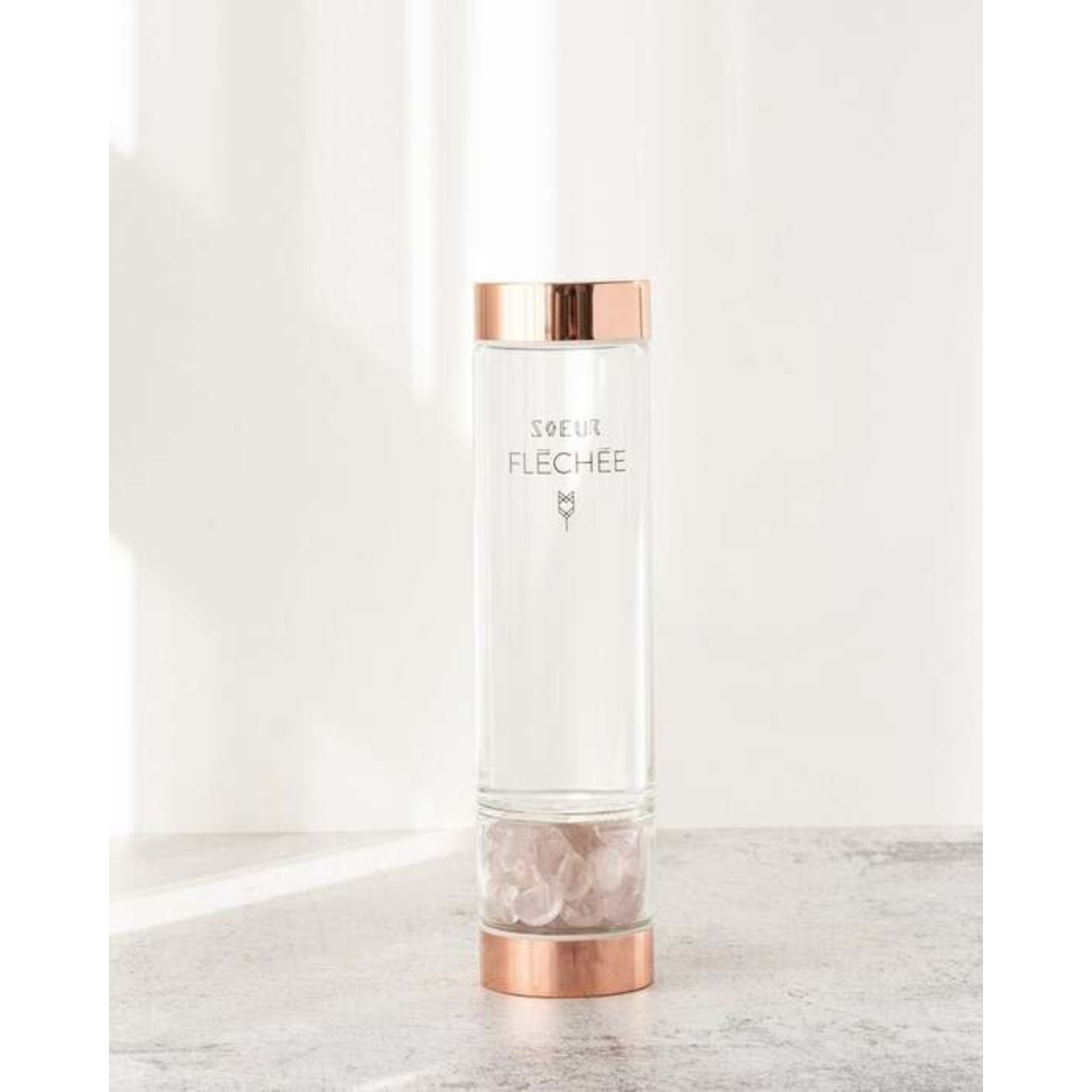 Soeur Fléchée Vibressence bottle rosegold- Soeur fléchée