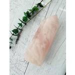 Soeur Fléchée Pointe quartz rose - 1040g