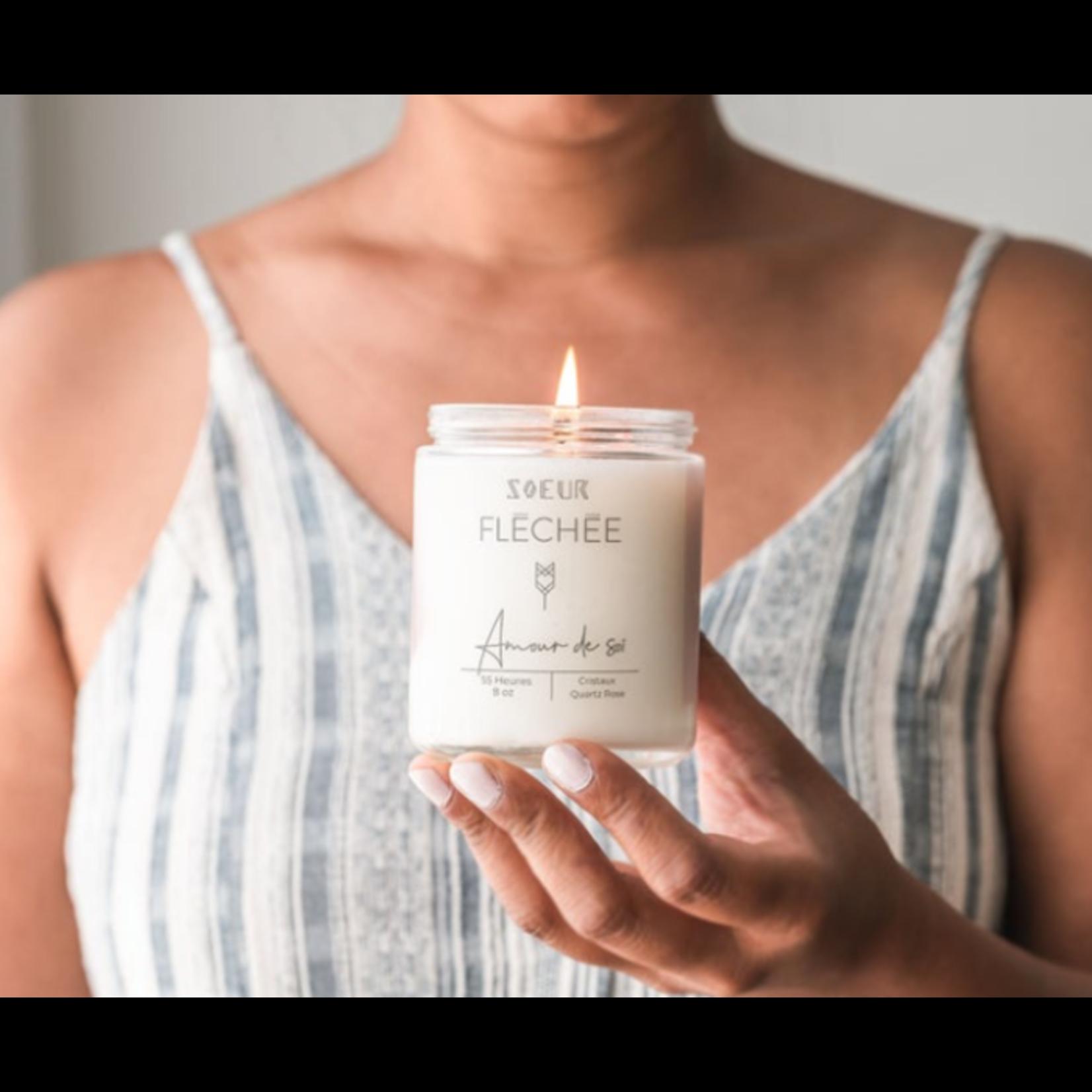 Soeur Fléchée Soeur fléchée - Self love candle 8oz