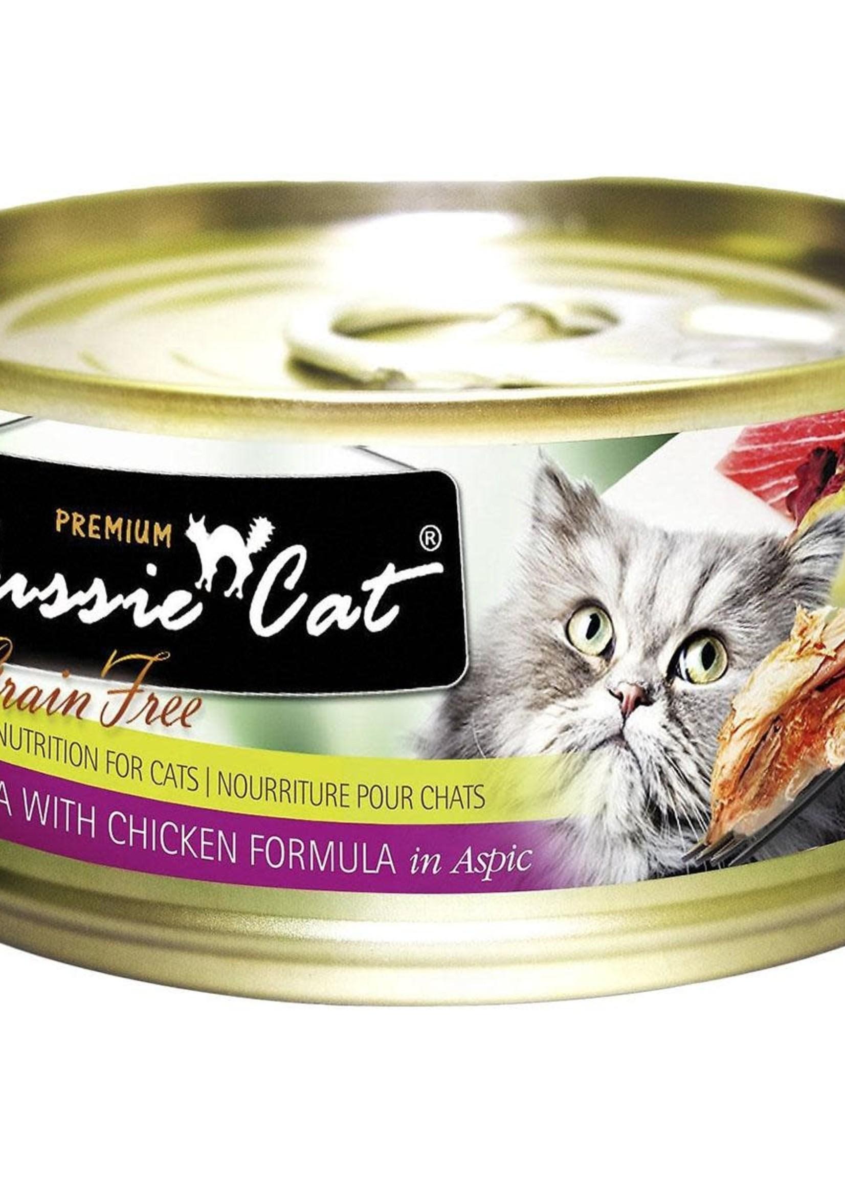 Fussie Cat Fussie Cat Premium Tuna w/Chicken in Aspic 5.5oz