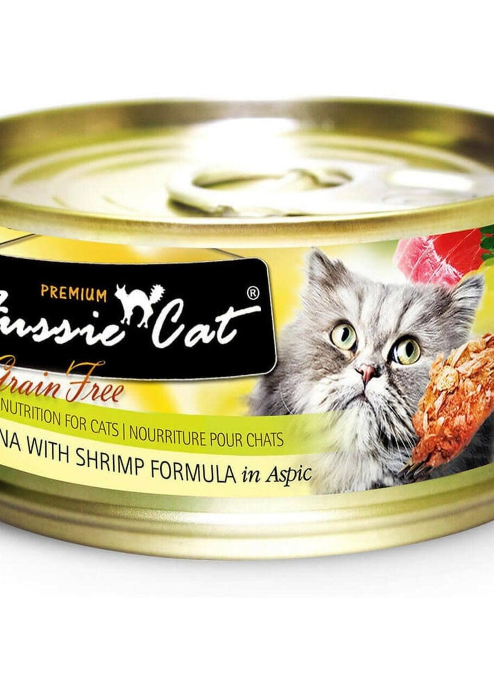 Fussie Cat Fussie Cat Premium Tuna w/Shrimp in Aspic 2.82oz