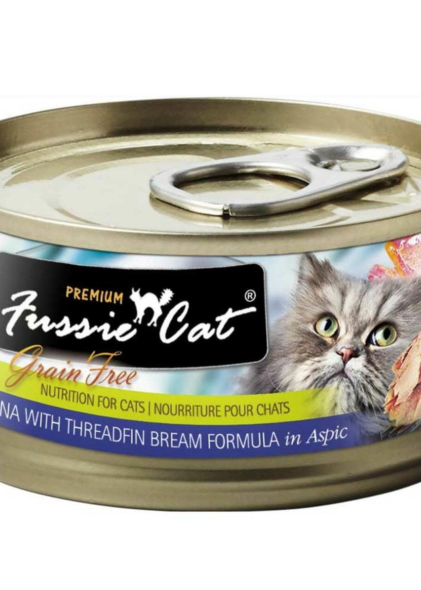 Fussie Cat Fussie Cat Premium Tuna w/Threadfin Bream in Aspic 2.82oz