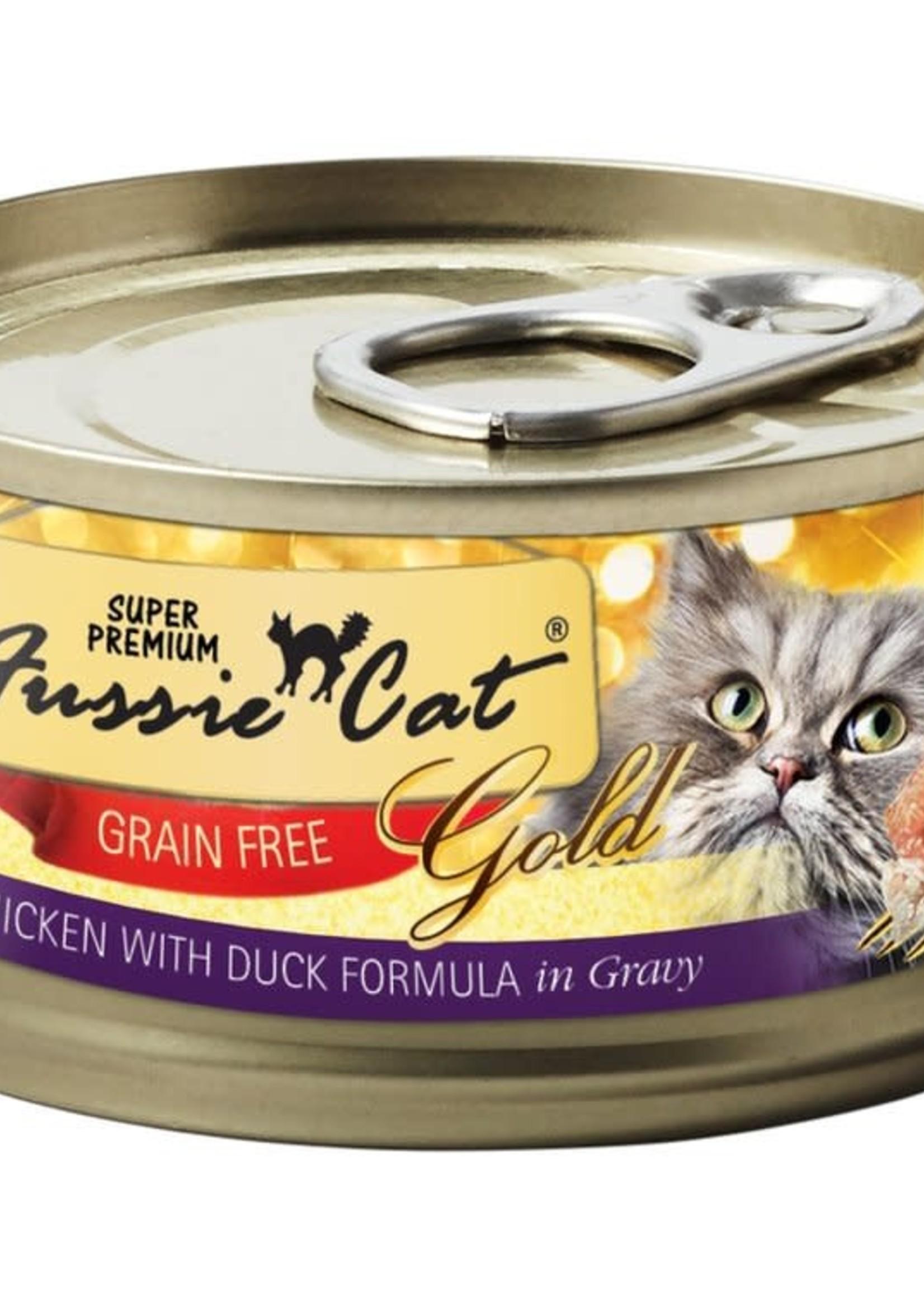 Fussie Cat Fussie Cat Super Premium Chicken w/Duck in Gravy 5.5oz