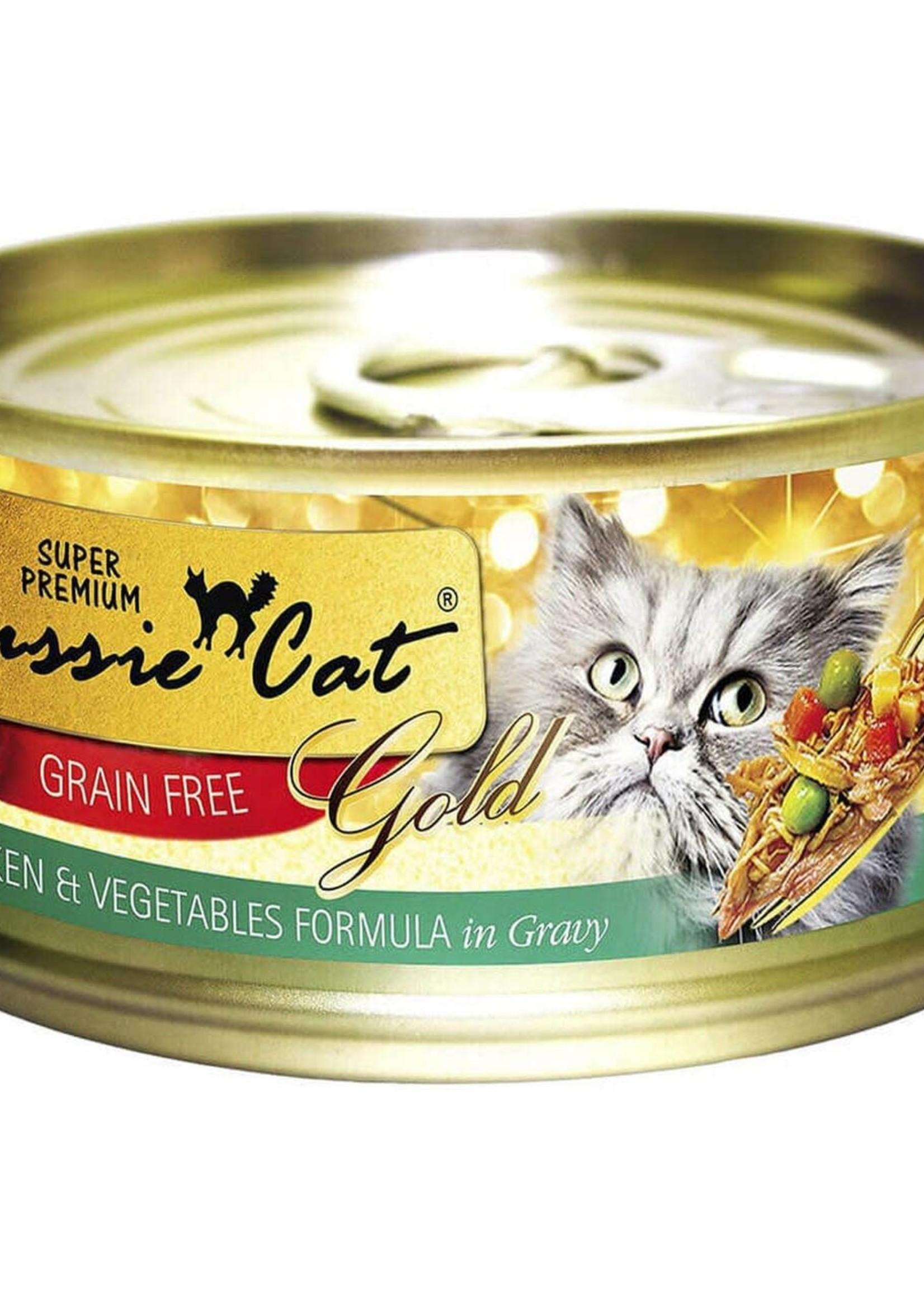 Fussie Cat Fussie Cat Super Premium  Chicken, Vegetables w/Gravy 5.5oz