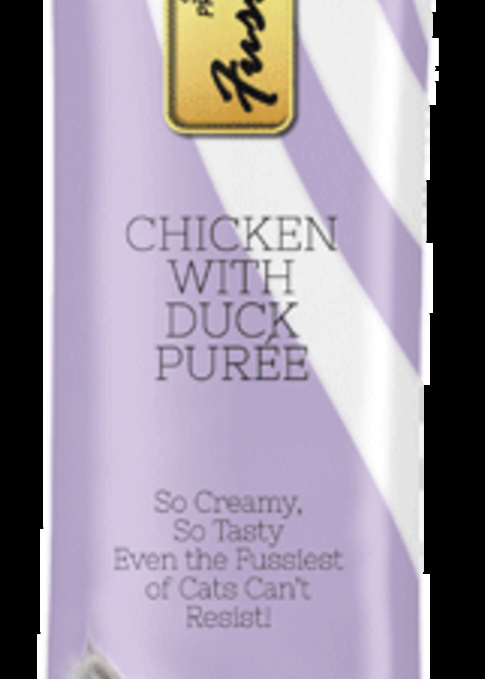 Fussie Cat Fussie Cat Chicken w/Duck Puree 0.5oz