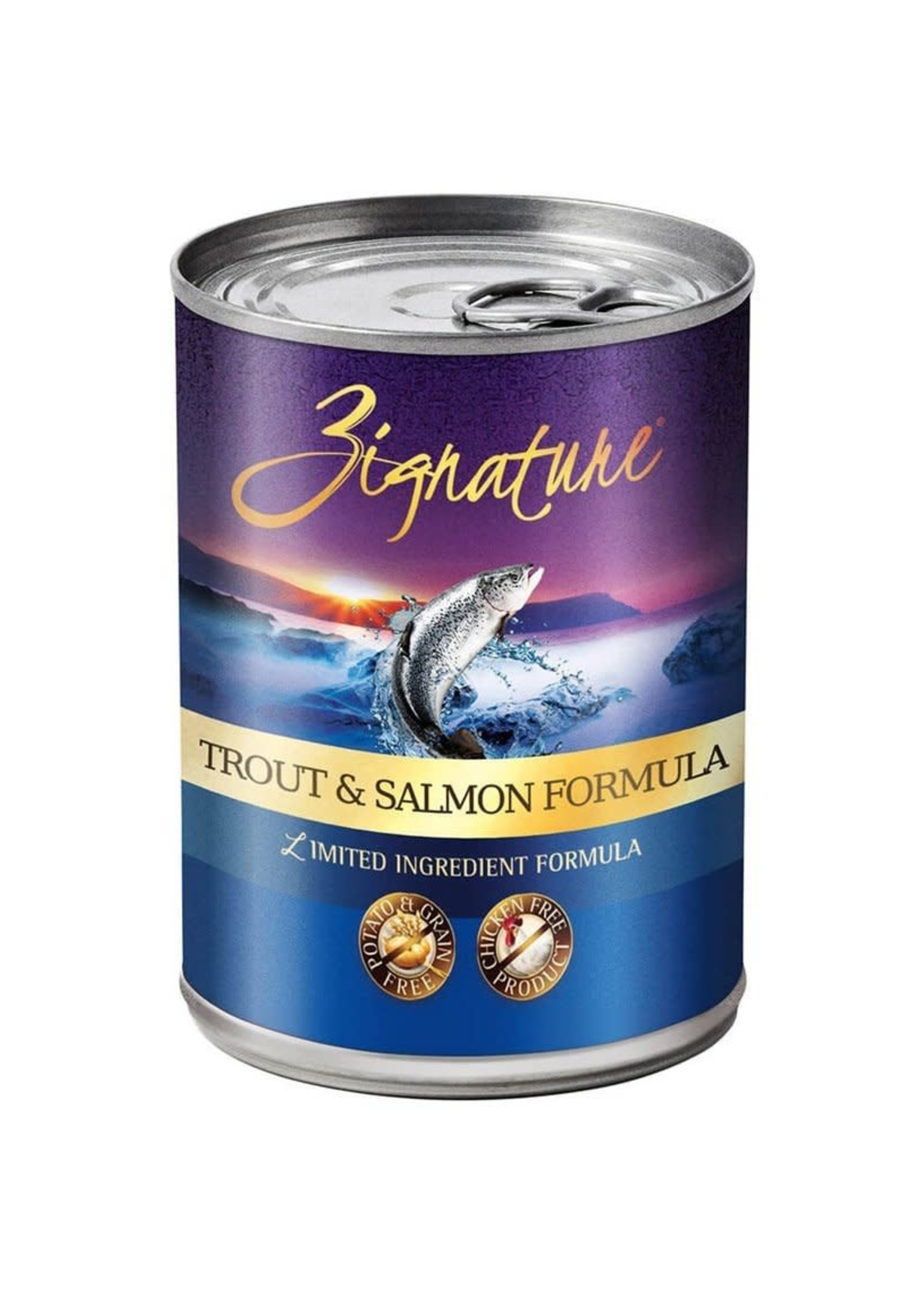 Zignature Zignature Trout/Salmon Formula Dog Food Wet 13oz