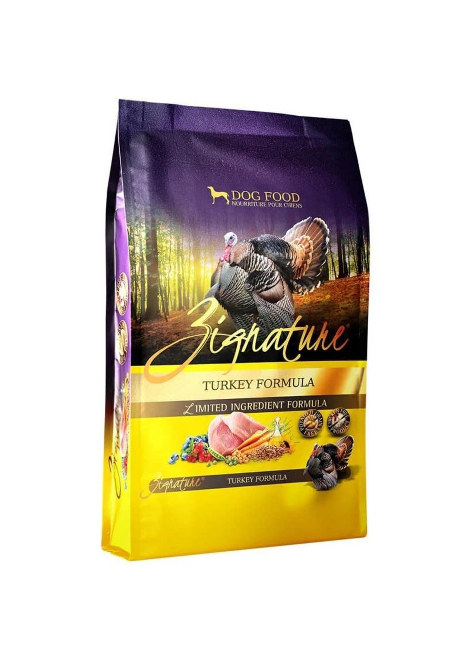 Zignature Zignature Turkey Formula Dog Food Dry 25lbs