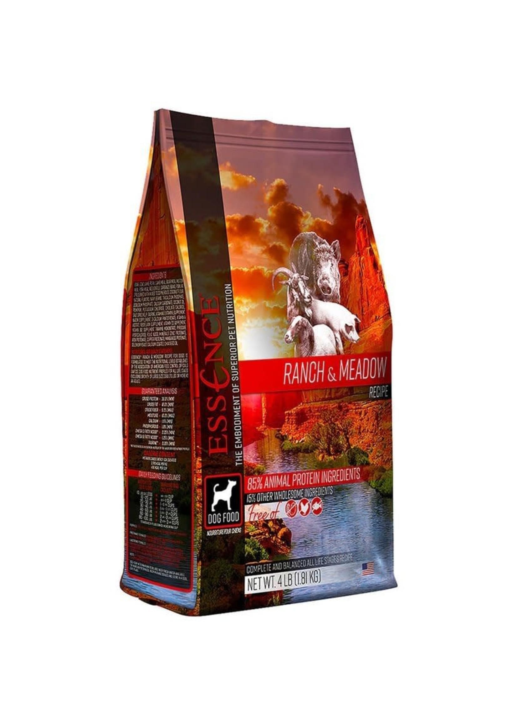 Essence Essence Ranch & Meadow Recipe Dry Dog Food 25lbs