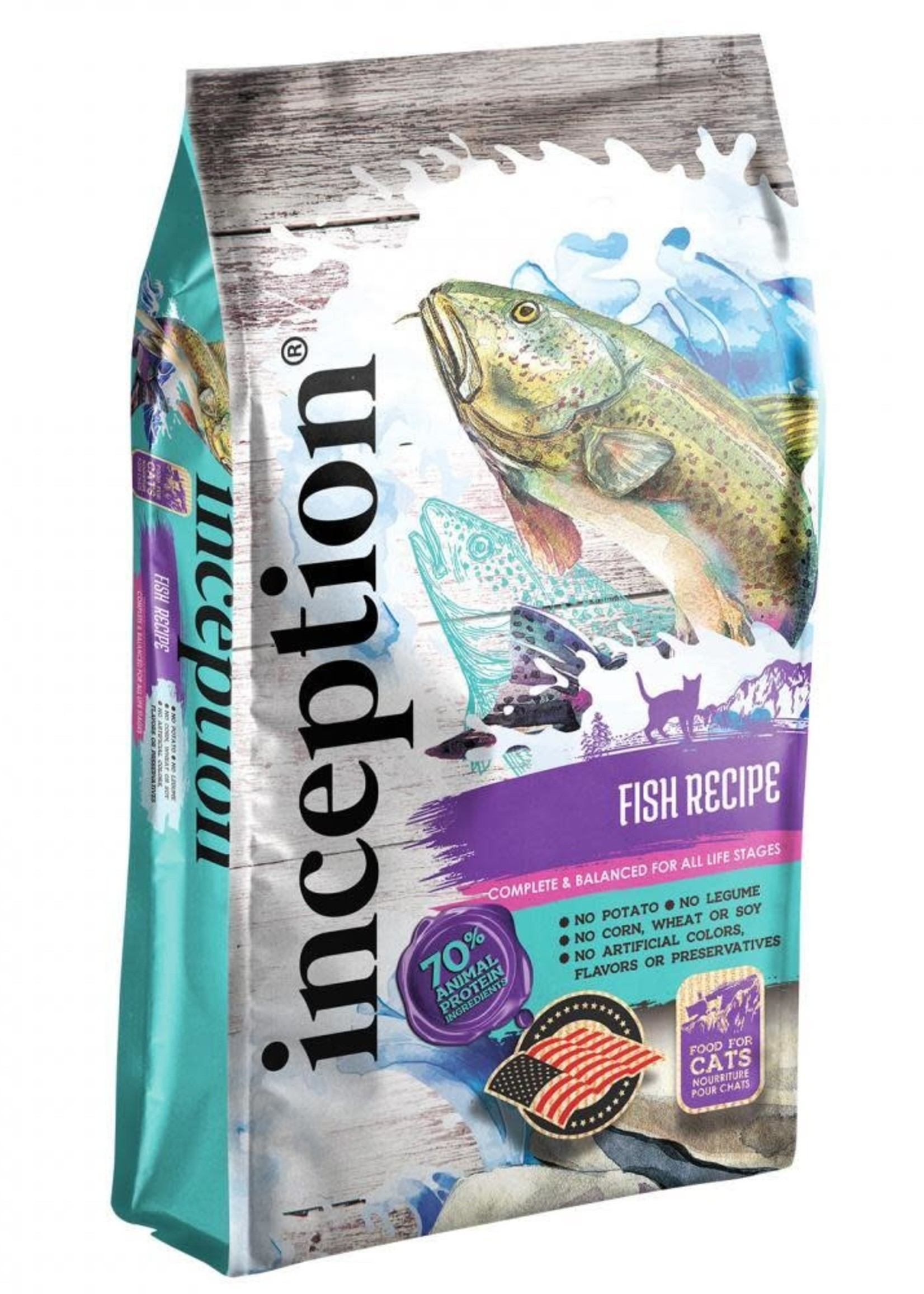 Inception Inception Cat Food Fish Recipe Dry 4lbs